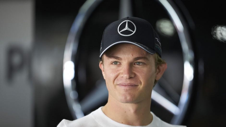 Nico Rosberg, Mercedes, Hockenheimring, 2014