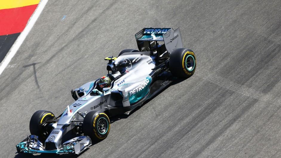 2014 German Grand Prix grid