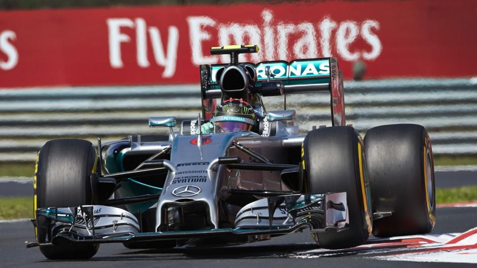 Nico Rosberg, Mercedes, Hungaroring, 2014