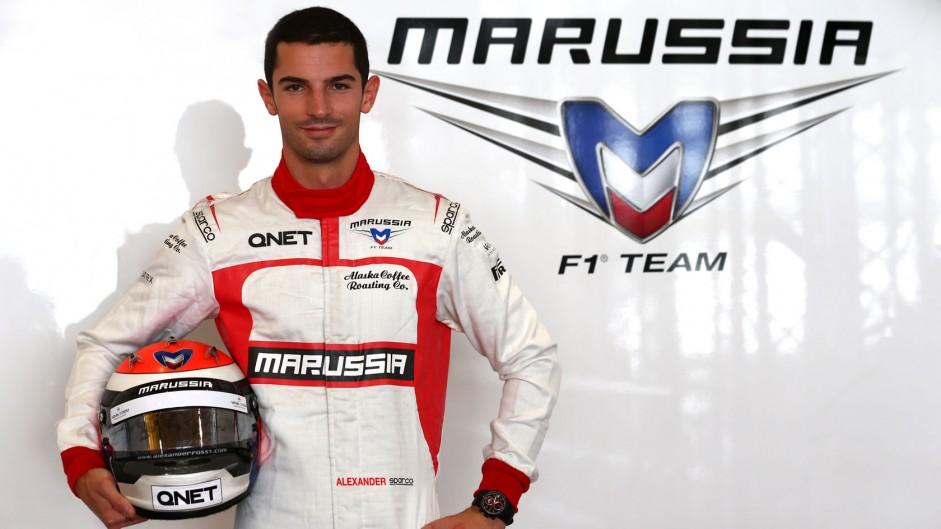 Alexander Rossi, Marussia, Hungaroring, 2014