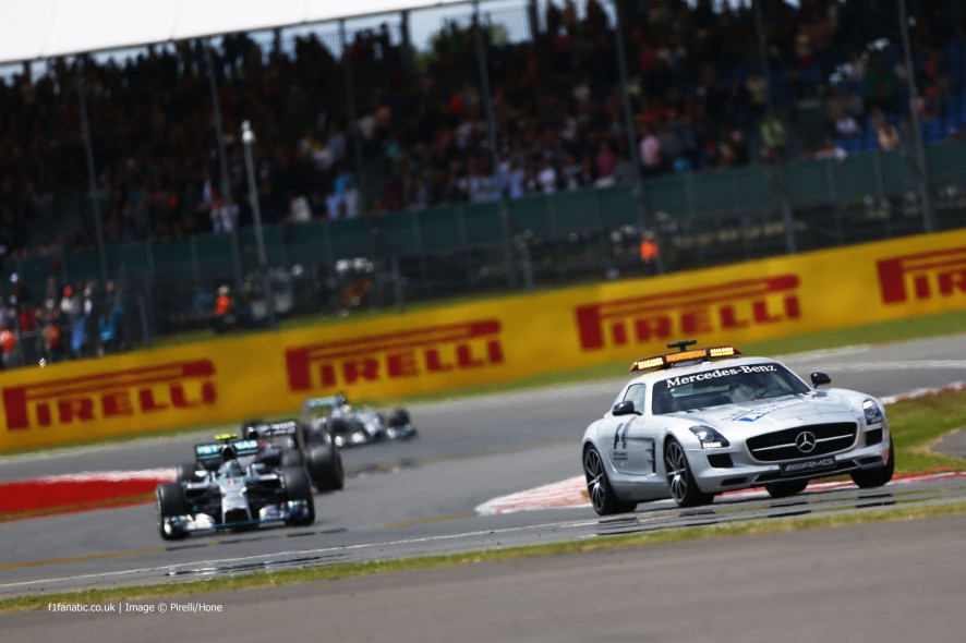 Safety Car, Nico Rosberg, Mercedes, Silverstone, 2014