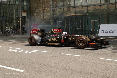 Marco Sorenen, Lotus, London, 2014
