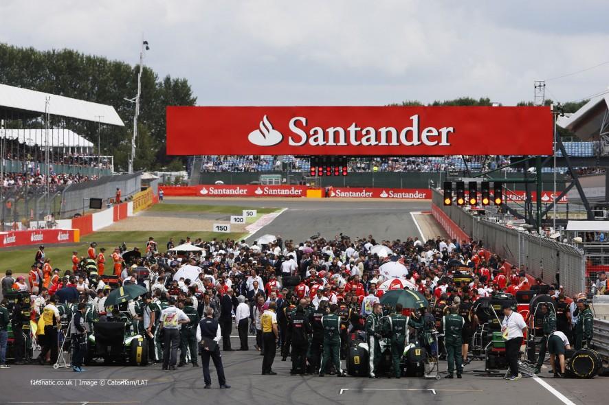 Start, Silverstone, 2014