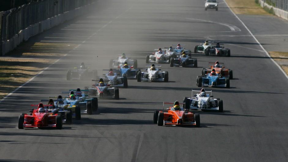 Start, Formula BMW World Final, Autodromo Hermanos Rodriguez, 2008