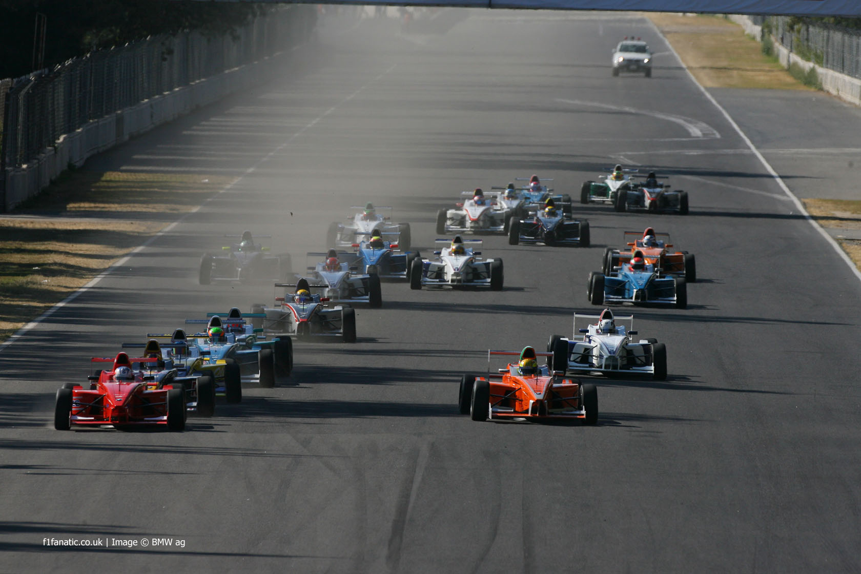 Start, Formula BMW World Final, Autodromo Hermanos Rodriguez, 2008