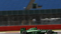 Will Stevens, Caterham, Silverstone test, 2014