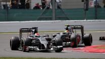 Adrian Sutil, Sauber, Silverstone, 2014