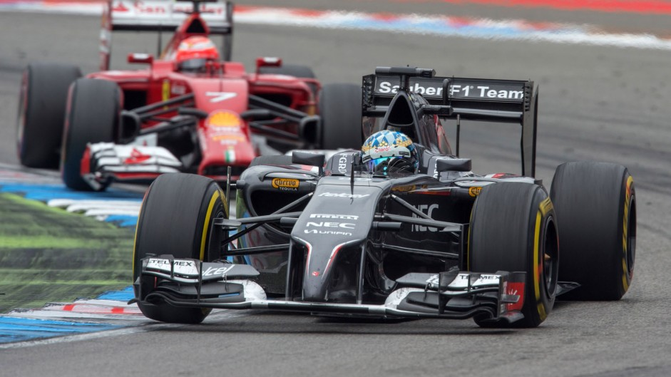 Rosberg equals Montoya as Sauber struggle goes on