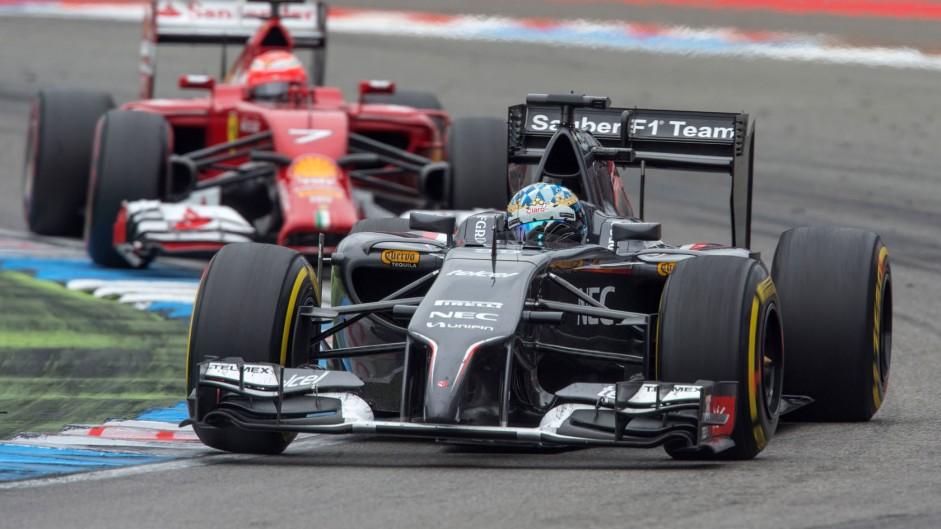Rosberg equals Montoya as Sauber struggle goes on