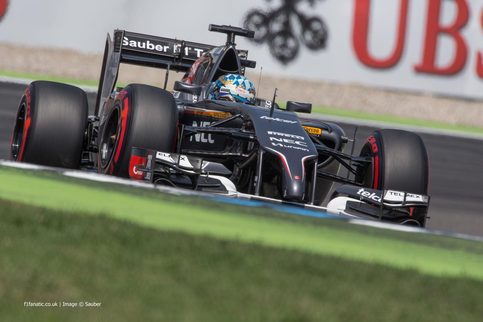 Adrian Sutil, Sauber, Hockenheimring, Saturday, 2014 My