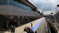 Jean-Eric Vergne, Toro Rosso, Silverstone test, 2014