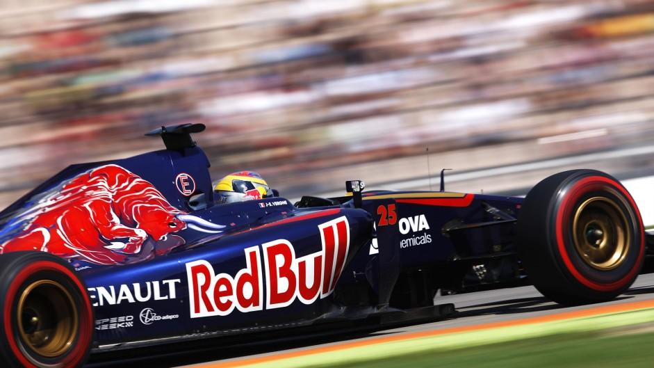 Jean-Eric Vergne, Toro Rosso, Hockenheimring, 2014