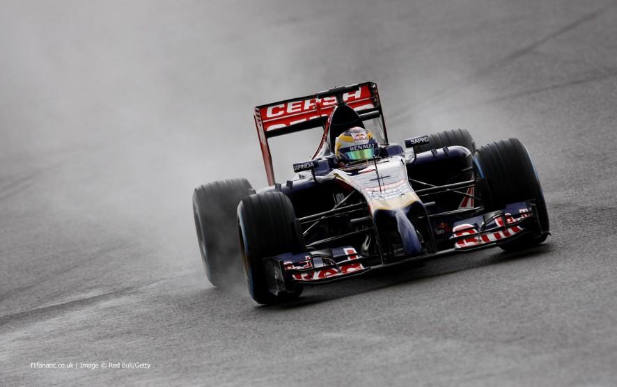 Jean-Eric Vergne, Toro Rosso, Silverstone, 2014