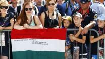 Sebastian Vettel fans, Hungaroring, 2014