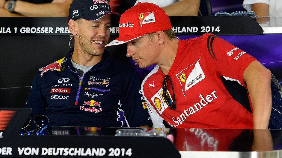 Vettel: no problems with 'uncomplicated' Raikkonen