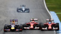 Sebastian Vettel, Kimi Raikkonen, Fernando Alonso, Hockenheimring, 2014