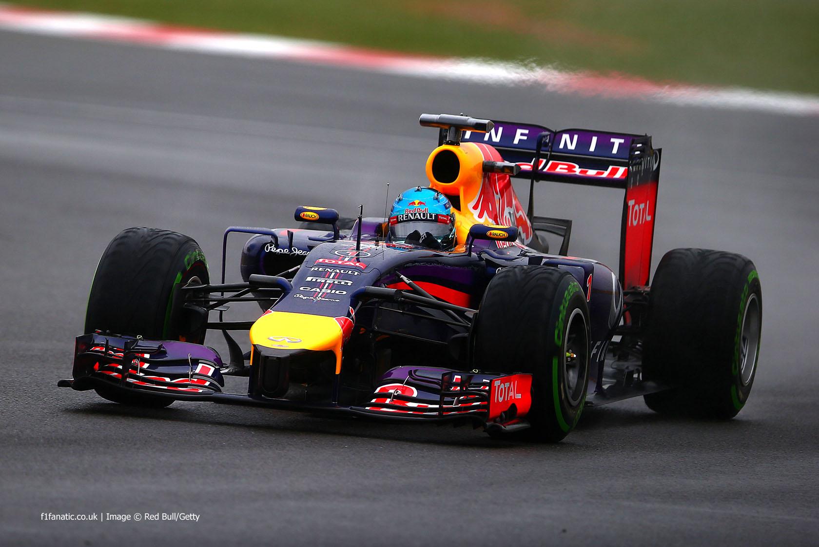 Sebastian Vettel, Red Bull, Silverstone, 2014