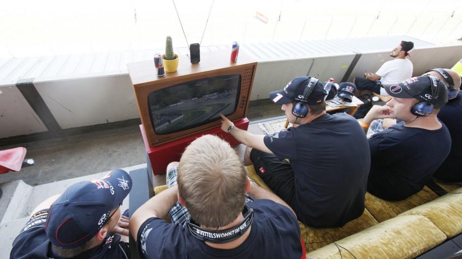 'Vettel's Wohnzimmer', Hockenheimring, 2014