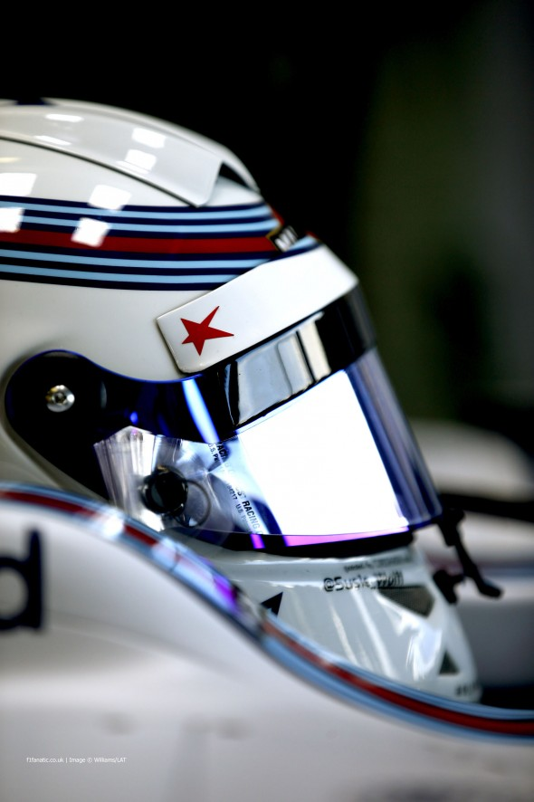 Susie Wolff, Williams, Silverstone, 2014