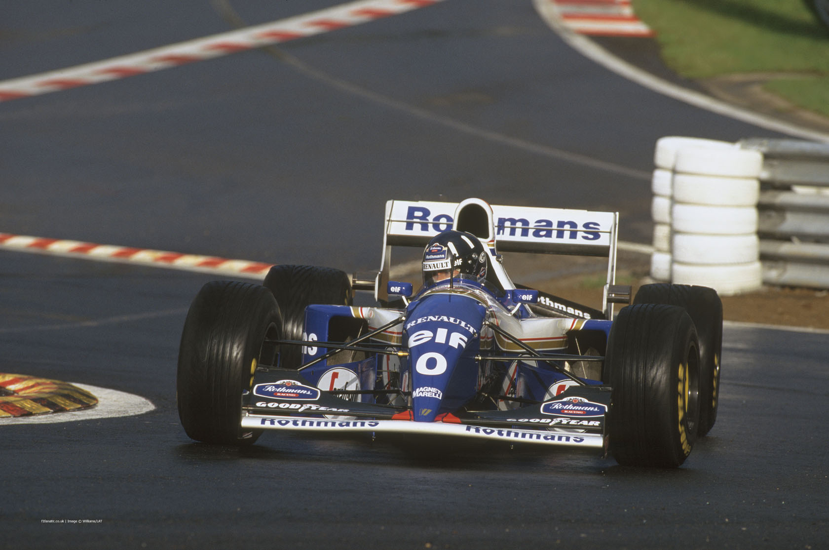 Damon Hill, Williams-Renault FW16, Spa-Francorchamps, 1994