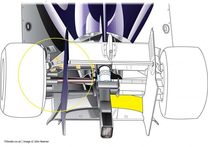 Red Bull RB10 rear