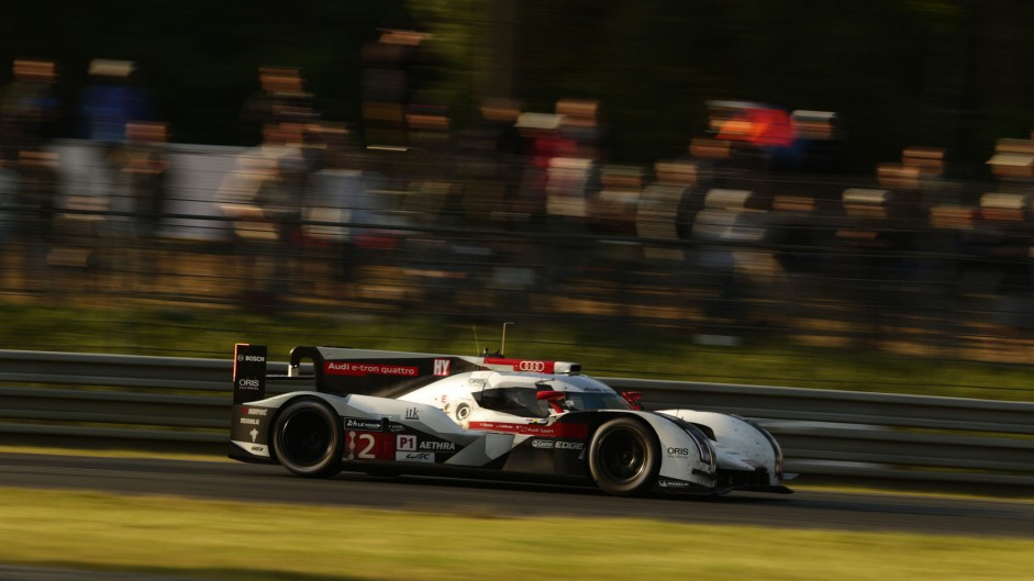 Andre Lotterer/Benoit Treluyer/Marcel Fassler, Audi R18 Etron Quattro, 2014