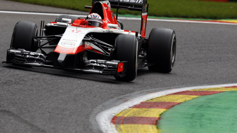 Jules Bianchi, Marussia, Spa-Francorchamps, 2014