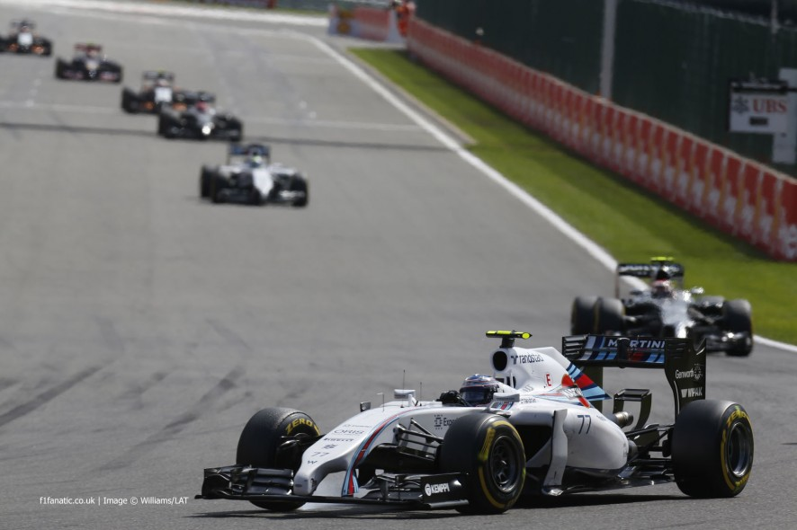 Valtteri Bottas, Williams, Spa-Francorchamps, 2014