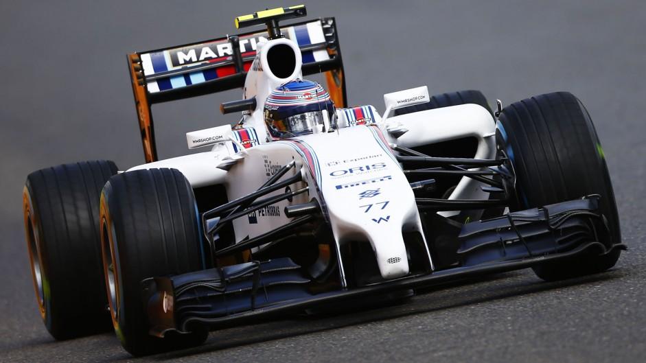 Valtteri Bottas, Williams, Spa-Francorchamps, 2014