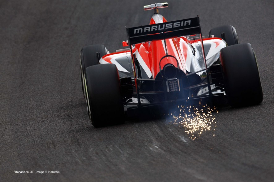 Max Chilton, Marussia, Spa-Francorchamps, 2014