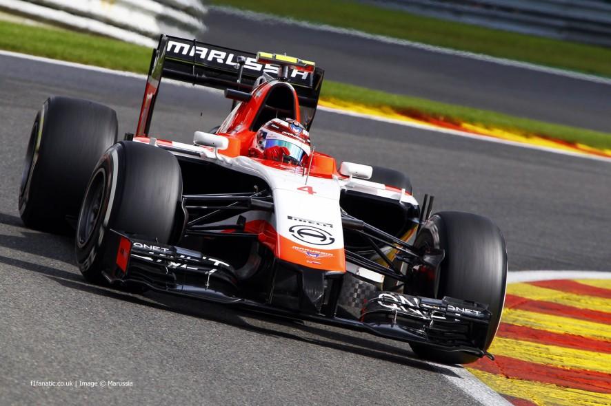 Max Chilton, Marussia, Spa-Francorchamps, 2014