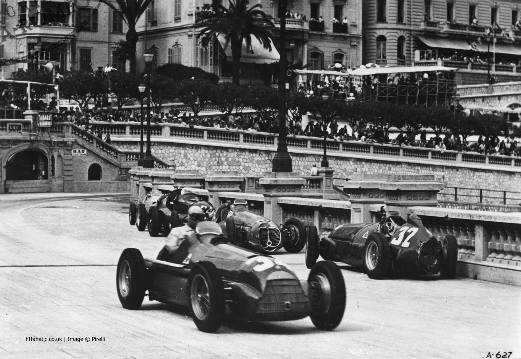 Juan Manuel Fangio, Alfa Romeo, Monte-Carlo, Monaco, 1950
