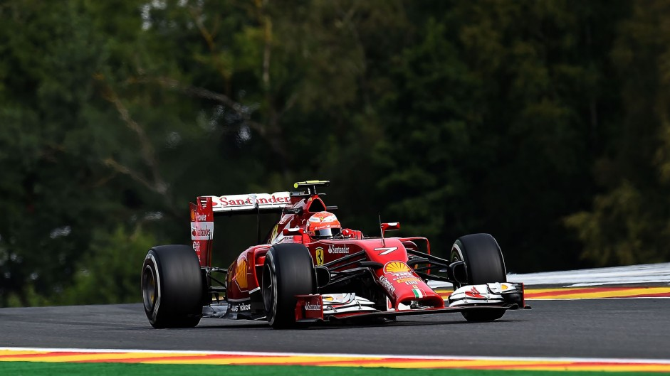 "Eau Rouge no longer ""very easy flat"" – Raikkonen"