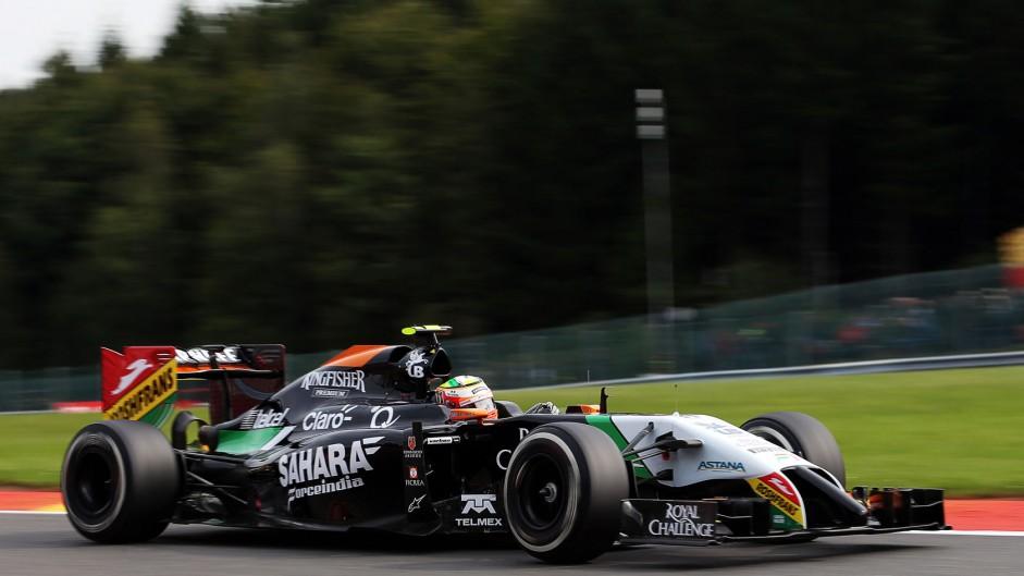 Sergio Perez, Force India, Spa-Francorchamps, 2014