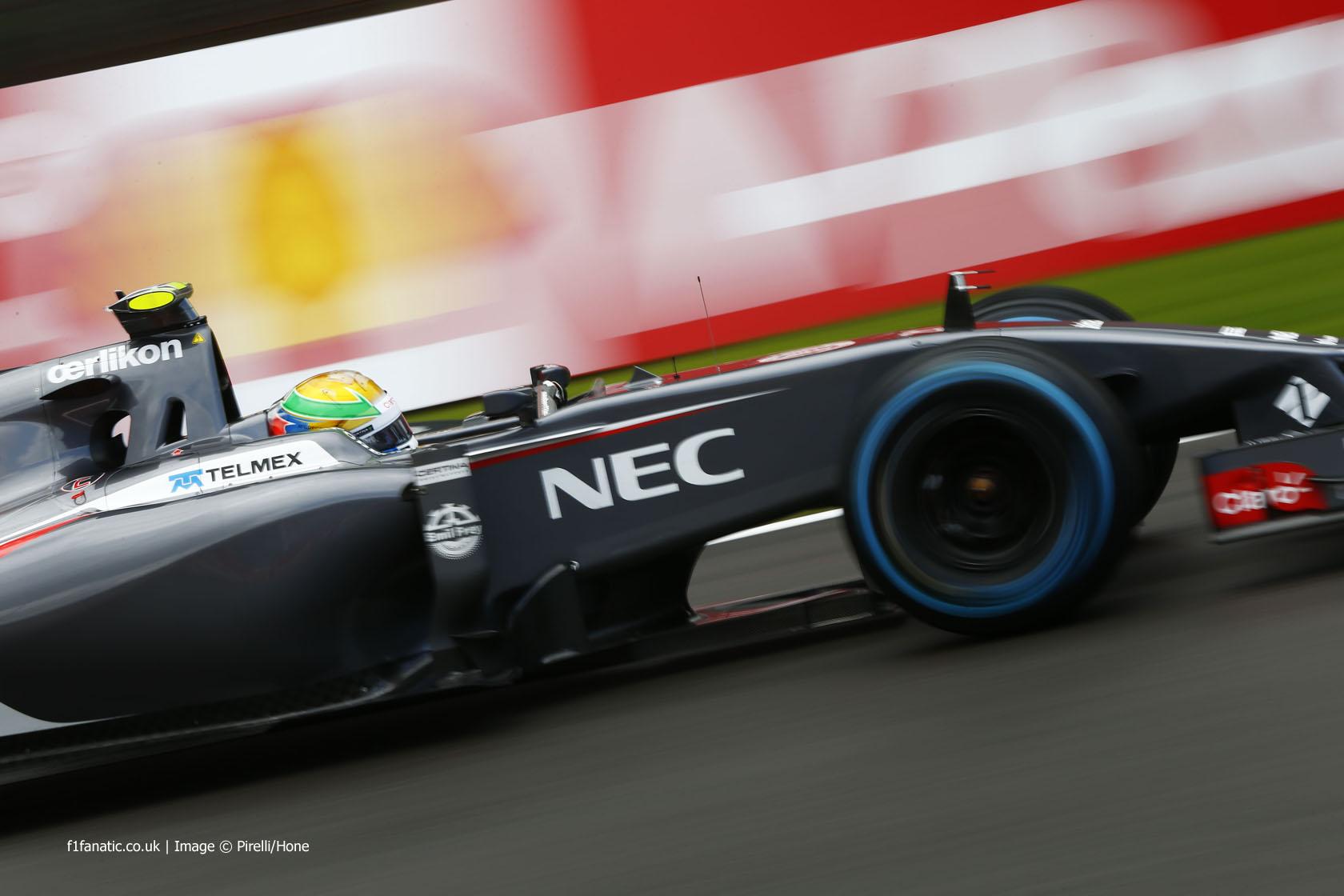 Esteban Gutierrez, Sauber, Spa-Francorchamps, 2014
