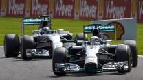 Lewis Hamilton, Mercedes, Spa-Francorchamps, 2014