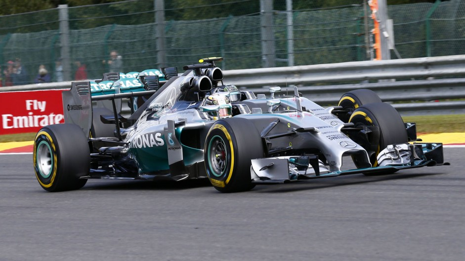 Top ten pictures from the 2014 Belgian Grand Prix