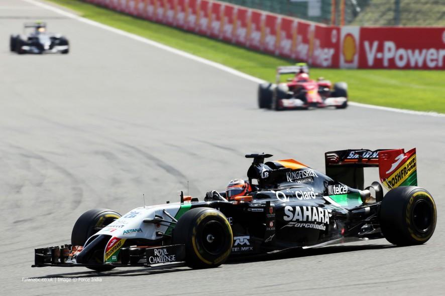 Nico Hulkenberg, Force India, Spa-Francorchamps, 2014