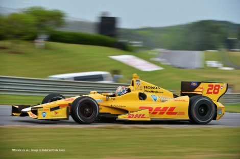 Ryan Hunter-Reay, IndyCar, Barber Motorsport Park, 2014