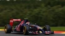 Daniil Kvyat, Toro Rosso, Spa-Francorchamps, 2014