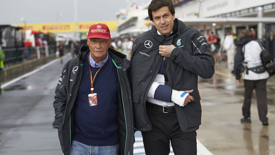 Caption Competition 57: Lauda and Wolff