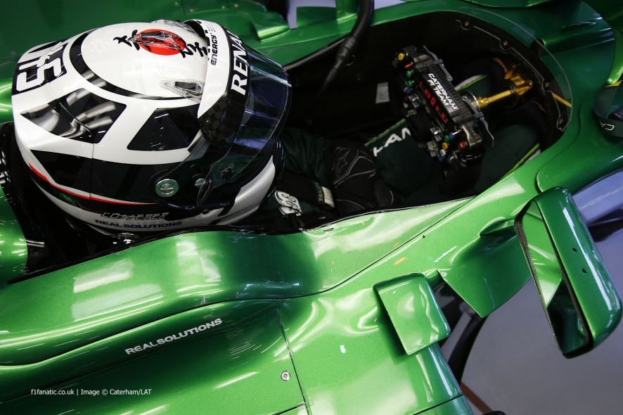 Andre Lotterer, Caterham, Spa-Francorchamps, 2014