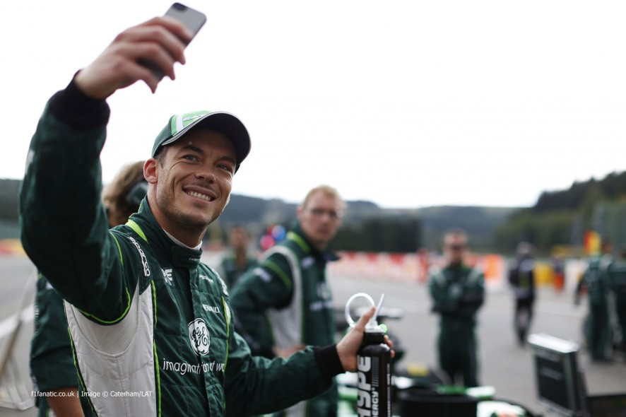 Andre Lotterer, Caterham, Spa-Francorchamps, 2014