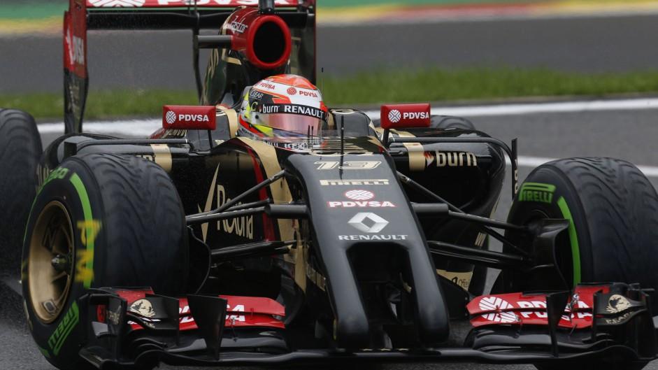 Pastor Maldonado, Lotus, Spa-Francorchamps, 2014