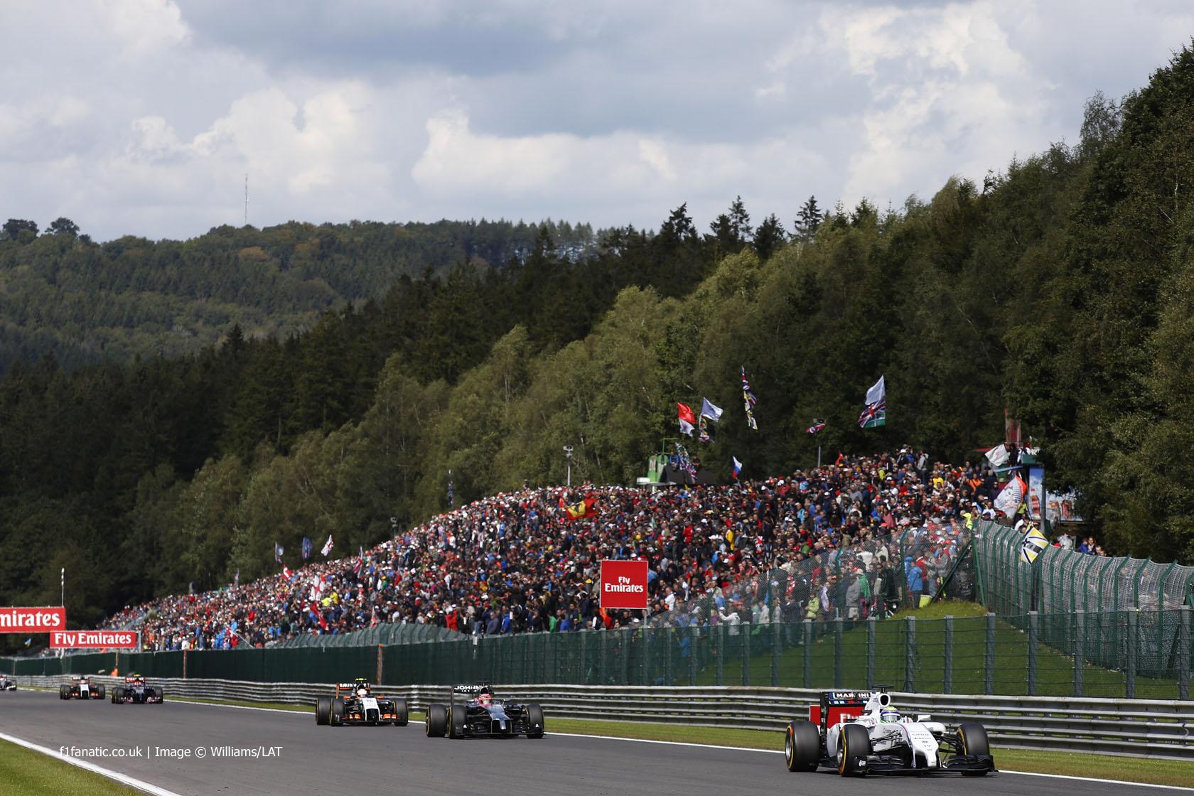 Felipe Massa, Williams, Spa-Francorchamps, 2014