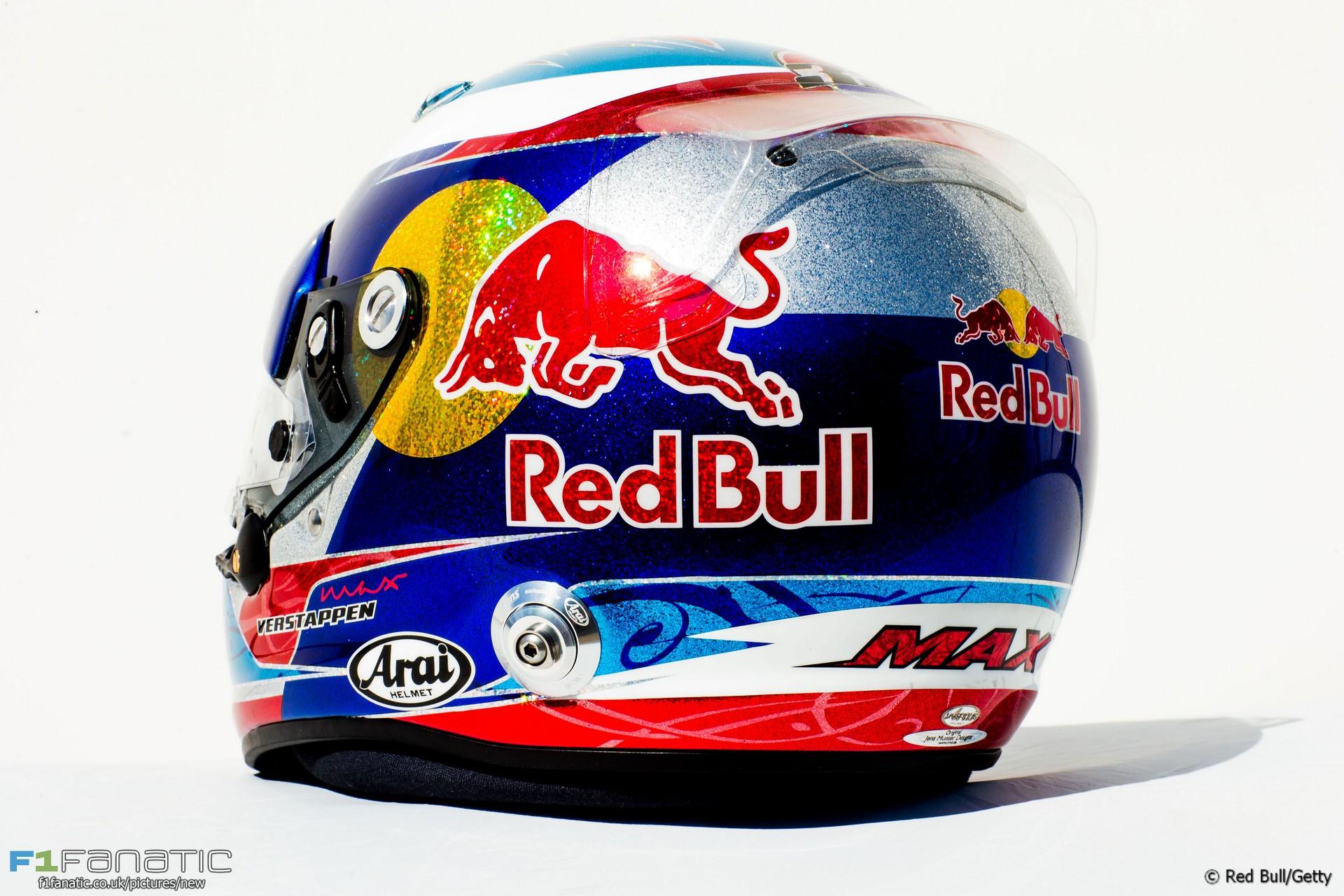 Max Verstappen helmet, 2016