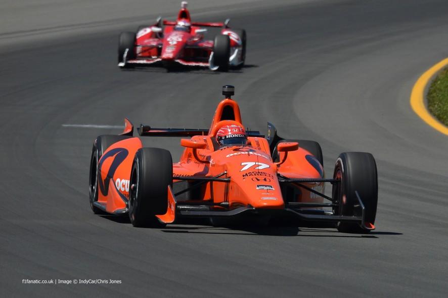 Simon Pagenaud, IndyCar, Sam Schmidt, Pocono, 2014