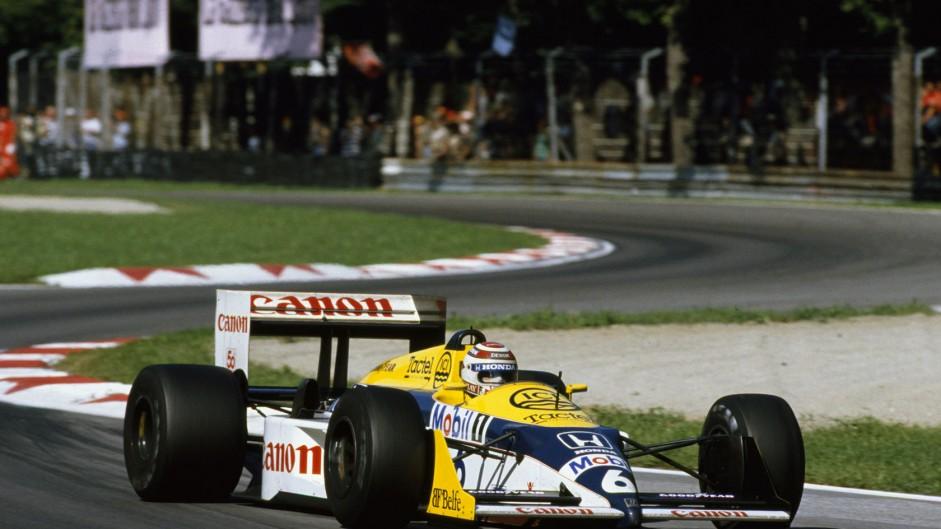 Nelson Piquet, Williams, Monza, 1987