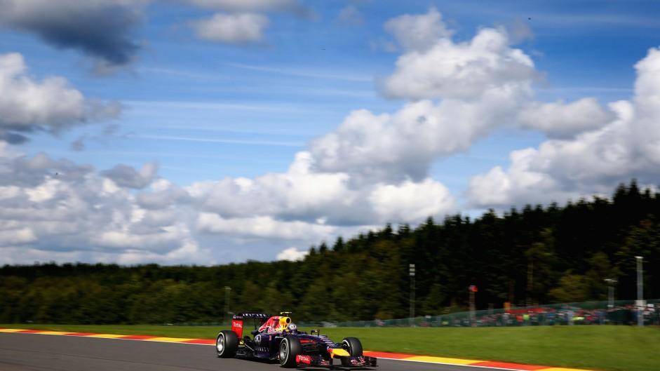 Daniel Ricciardo, Red Bull, Spa-Francorchamps, 2014