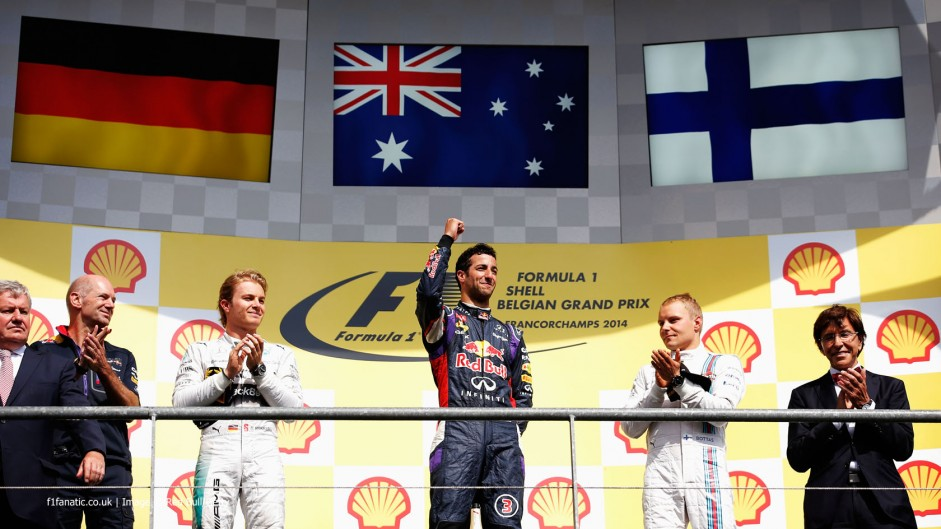 2014 Belgian GP Predictions Championship results